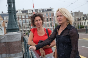Anouk Pappers (cbnws) and Carole van Bekkum (DreamCatch)